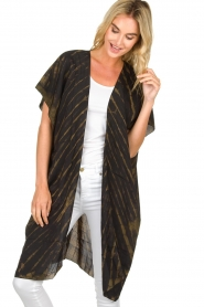 Rabens Saloner |  Kimono Liona  | groen  | Picture 2