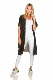 Rabens Saloner |  Kimono Liona  | groen  | Picture 3