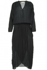 Rabens Saloner |  Maxi dress Marinne | black  | Picture 1