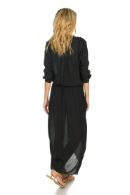 Rabens Saloner |  Maxi dress Marinne | black  | Picture 5