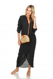 Rabens Saloner |  Maxi dress Marinne | black  | Picture 3