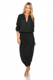 Rabens Saloner |  Maxi dress Marinne | black  | Picture 2