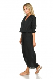 Rabens Saloner |  Maxi dress Marinne | black  | Picture 4