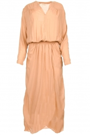 Rabens Saloner |  Maxi dress Marinne | nude  | Picture 1