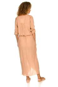Rabens Saloner |  Maxi dress Marinne | nude  | Picture 5
