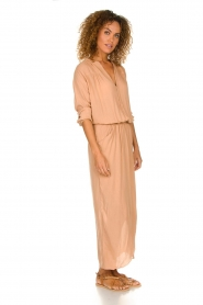 Rabens Saloner |  Maxi dress Marinne | nude  | Picture 4