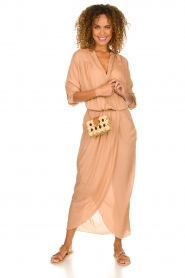Rabens Saloner |  Maxi dress Marinne | nude  | Picture 2