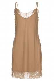Hanro |  Slip dress with lace Miss | gold  | Picture 1