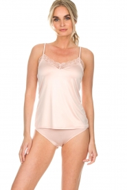 Hanro |  Seamless top Fleur | pink  | Picture 2
