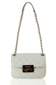 MICHAEL Michael Kors |  Leather shoulder bag Sloan | mint green  | Picture 1
