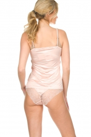 Hanro |  Briefs with lace Fleur | pink  | Picture 4