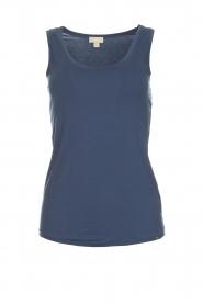 Hanro | Yoga top Ella | blauw  | Afbeelding 1