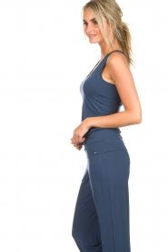 Hanro | Yoga top Ella | blauw  | Afbeelding 4