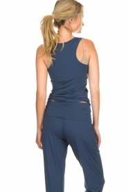 Hanro | Yoga top Ella | blauw  | Afbeelding 5