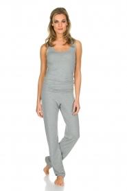 Hanro |  Yoga top Ella | light grey  | Picture 3