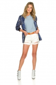 Articles of Society | Denim short Meredith | white  | Picture 3