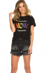 Articles of Society   Denim short Meredith   black    Picture 2