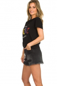 Articles of Society | Denim short Meredith | black  | Picture 4