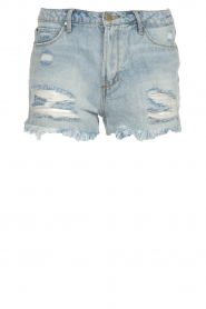 Articles of Society | Denim short Meredith | blue