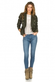 Articles of Society |  High-rise jeans Heather | blue  | Picture 3
