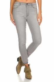 Articles of Society |  High-rise jeans Heather | grey  | Picture 3