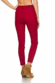 Articles of Society |  High rise skinny jeans Heather | red  | Picture 5