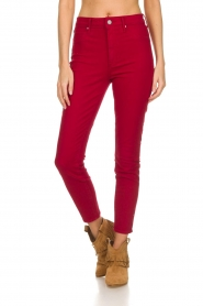 Articles of Society |  High rise skinny jeans Heather | red  | Picture 3