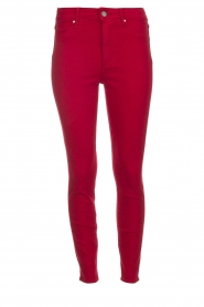 Articles of Society |  High rise skinny jeans Heather | red  | Picture 1