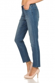 Articles of Society | High straight leg jeans Isabella | blauw  | Afbeelding 4