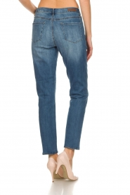 Articles of Society | High straight leg jeans Isabella | blauw  | Afbeelding 5