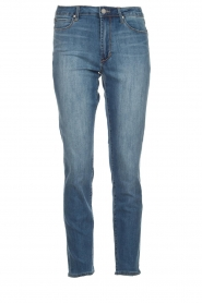 Articles of Society | High straight leg jeans Isabella | blauw  | Afbeelding 1