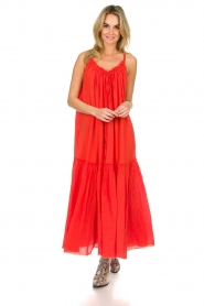 Devotion |  Maxi dress Sisi | red  | Picture 2