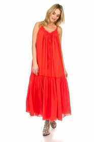 Devotion |  Maxi dress Sisi | red  | Picture 3