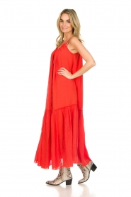 Devotion |  Maxi dress Sisi | red  | Picture 4