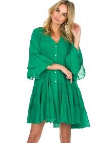Devotion |  Dress Delia | green  | Picture 4
