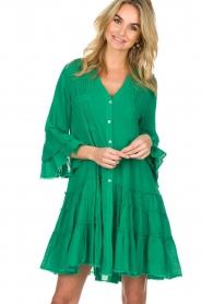 Devotion |  Dress Delia | green  | Picture 2