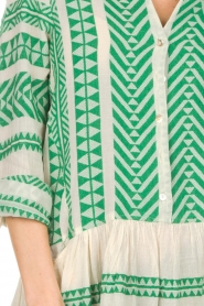 Devotion |  Printed dress Mirah | green  | Picture 7