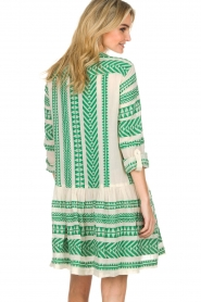 Devotion |  Printed dress Mirah | green  | Picture 6