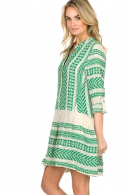 Devotion |  Printed dress Mirah | green  | Picture 5