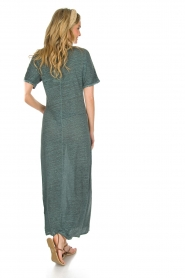 Not Shy |  Linen dress Anna |  blue  | Picture 5