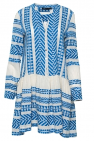 Devotion |  Printed dress Mirah | blue