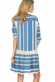 Devotion |  Printed dress Mirah | blue  | Picture 7