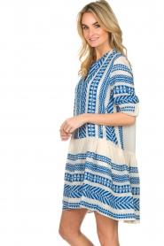 Devotion |  Printed dress Mirah | blue  | Picture 6