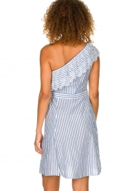 Freebird | Off-shoulder dress Britney | blue  | Picture 5
