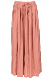 Not Shy | Maxi-rok Lucie | roze  | Afbeelding 1