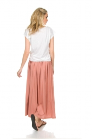 Not Shy | Maxi-rok Lucie | roze  | Afbeelding 6