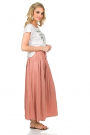 Not Shy | Maxi-rok Lucie | roze  | Afbeelding 5