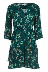 Freebird |  Floral dress Hazel | green  | Picture 1