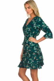 Freebird |  Floral dress Hazel | green  | Picture 5