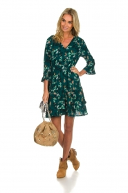 Freebird |  Floral dress Hazel | green  | Picture 3